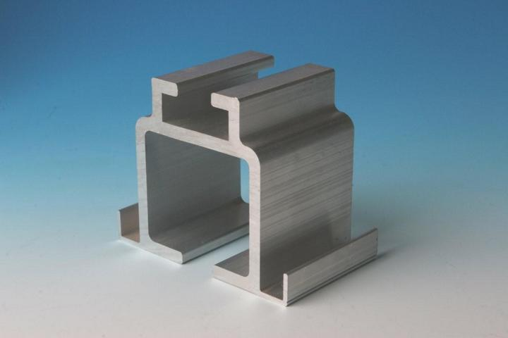Acoustic movable wall component Single point head track