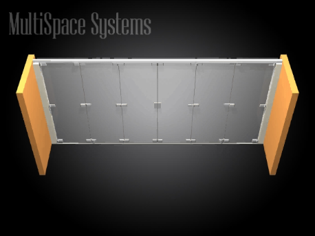 Glass Hinged Folding System